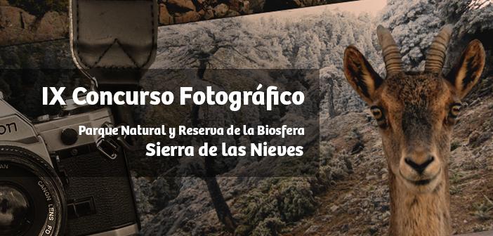 IX Concurso Fotográfico Parque Natural y Reserva de la Biosfera Sierra de las Nieves