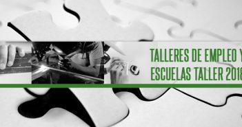 Procesos de selección alumnado de Talleres de Empleo y Escuelas Taller 2018